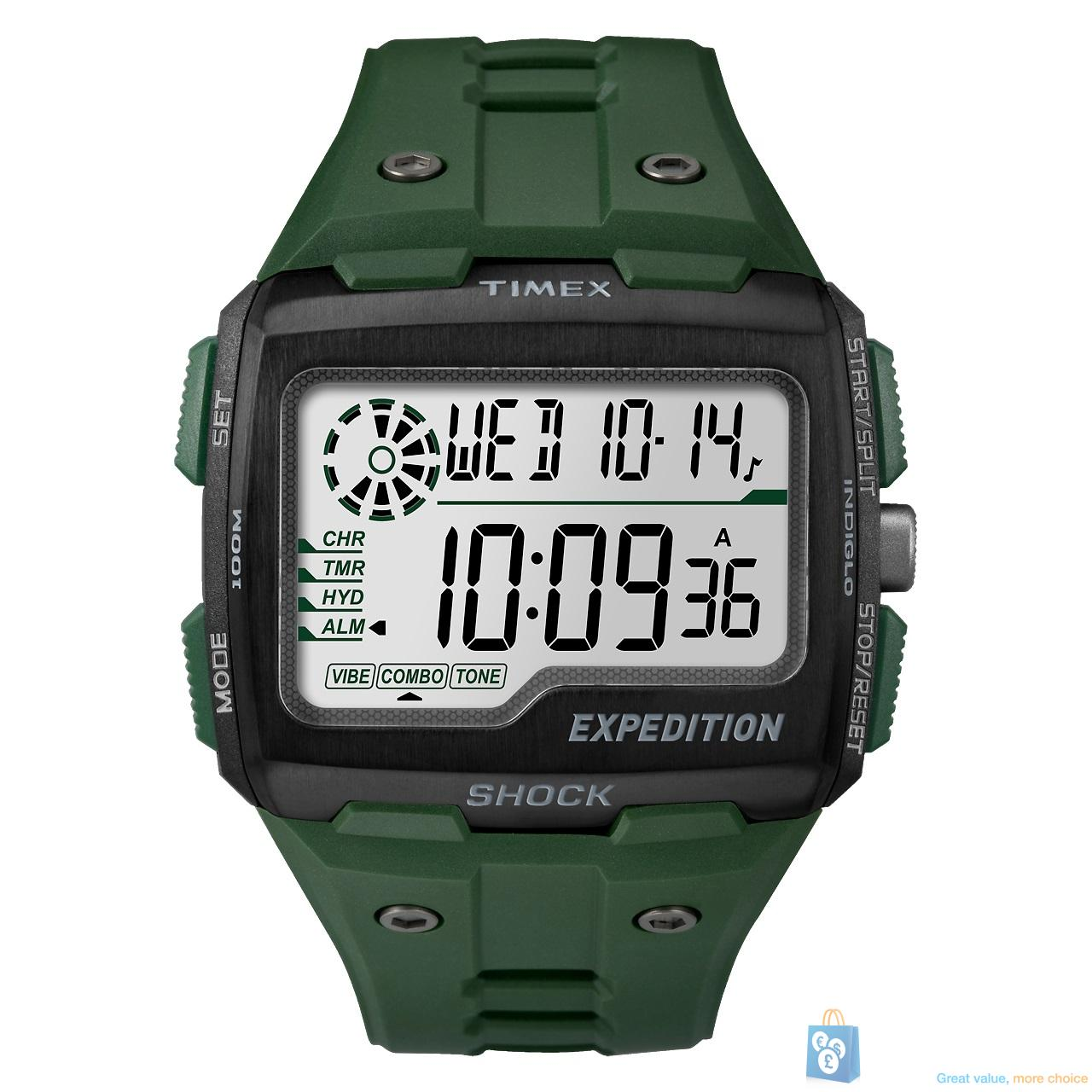 timex expedition grid shock tw4b02600 men 039 s green digital click on the image below to get zoomed view of the item timex expedition grid shock tw4b02600 men s green digital sports watch